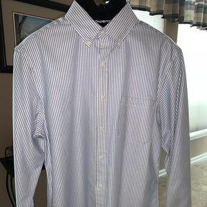 Jos A Bank 1905 Tailored Fit Dress Shirt Medium